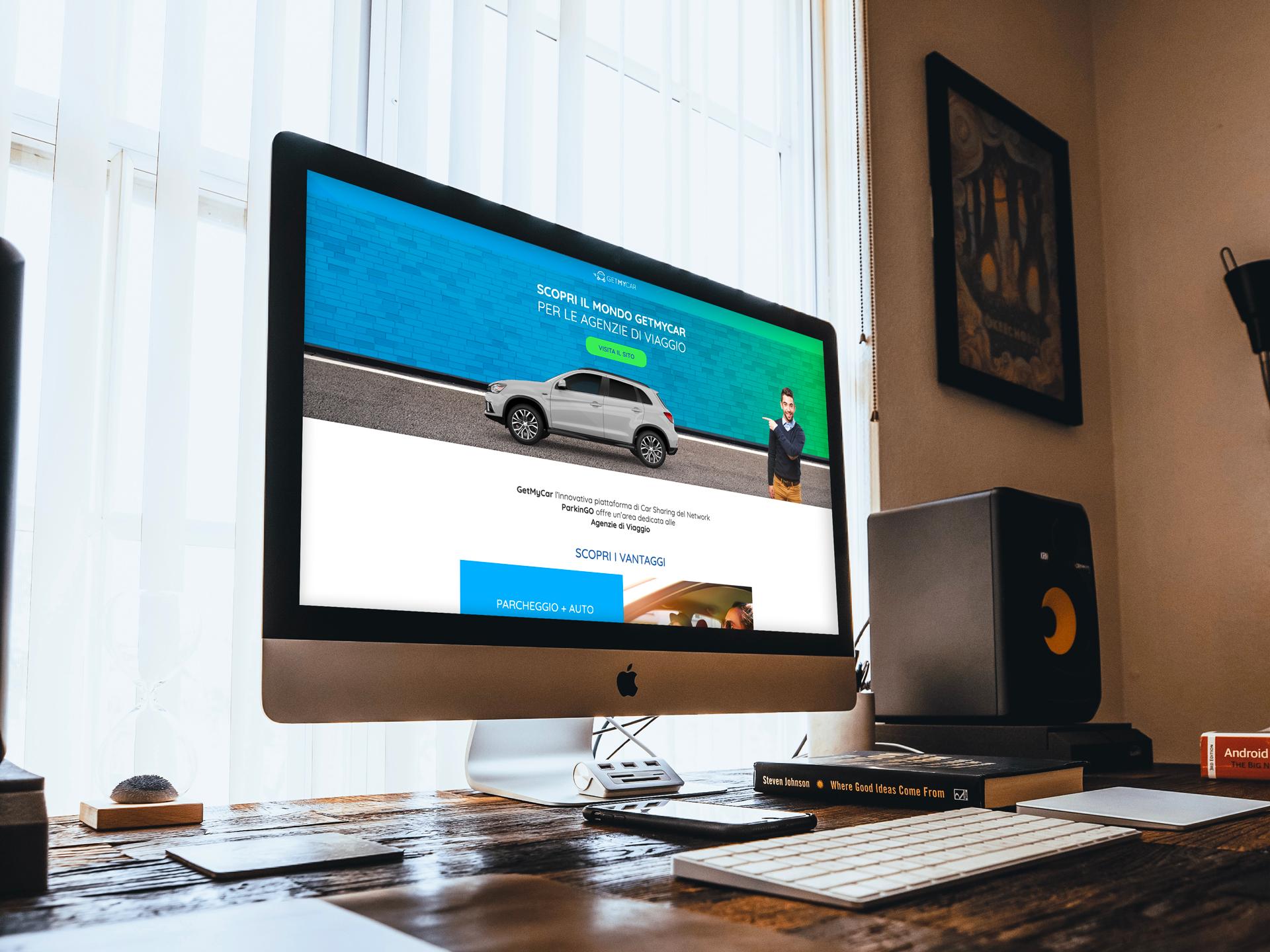GetMyCar-Landing Page